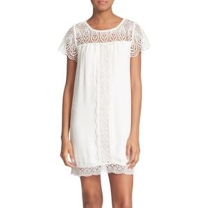 Joie 'Kastra' Lace Inset Shift Dress